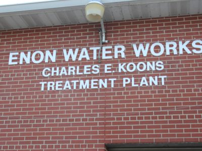 Dedication to the Enon Water Treatment Plant