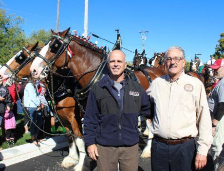 State Representative Kyle Koehler and Mayor Timothy Howard