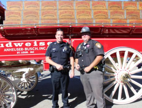 Lt Mike Holler and Deputy Jeff Wise